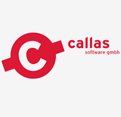 Logo + Geschäftsausstattung Callas Software gmbh - Booth Design Unit: Grafikdesign, Corporate Design, Printmedien, Webdesign aus Berlin